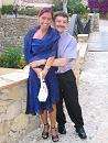 Adrian und Beatrice meine Frau